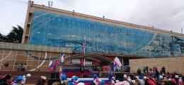 Праздник посвещенный воссоединению Крыма с Россией